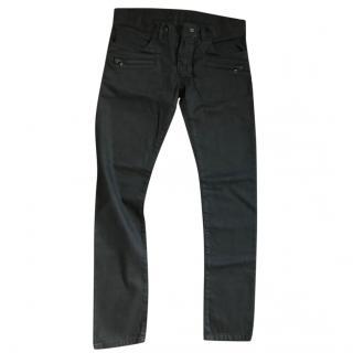 Balmain Black mens Skinny Jeans