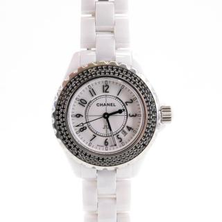 Chanel J12 Black Diamond Watch