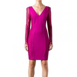 Emilio Pucci Lace Sleeve dress
