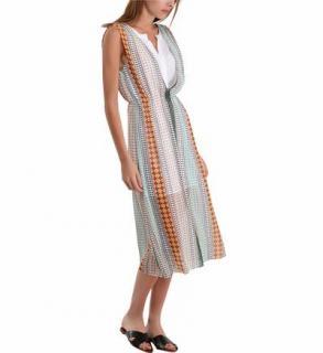Sandro Geometric Dress