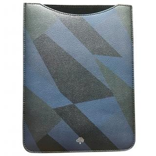 Mulberry Blue And Black iPad Sleeve Case