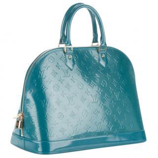 Louis Vuitton Vernis Alma GM Bleu Galactic