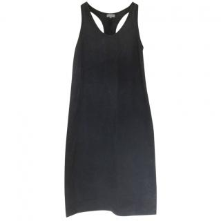 Margaret Howell navy blue cotton dress