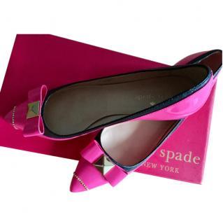 Kate Spade shoes - lipstick pink