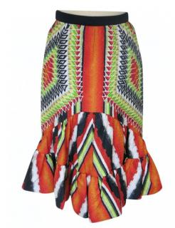 Peter Pilotto multi-coloured printed Show skirt