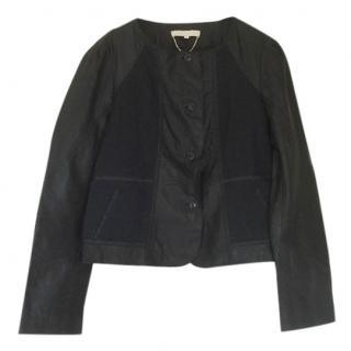 Vanessa Bruno Leather Blouson Style Jacket