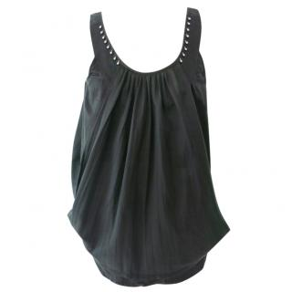 Zucca Cotton Top with Silver Hardware