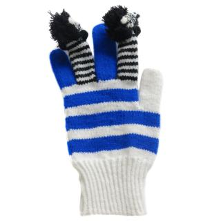 Yang Du Multi-Coloured Horse Knitted Gloves