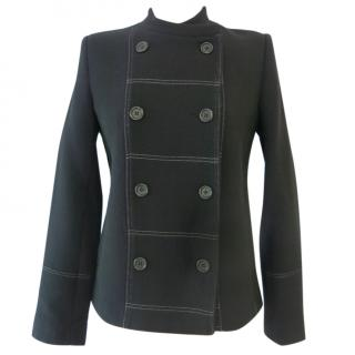 Markus Lupfer navy wool jacket