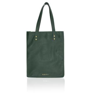 Marc by Marc Jacobs Green Werdie Boy Leather Tote Bag