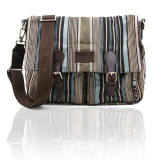 Etro Multicolored Striped Messenger Bag