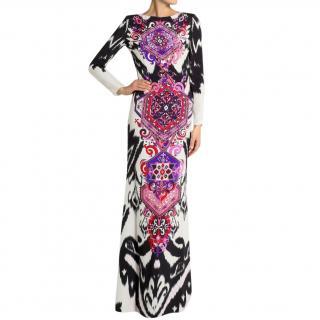 Emilio Pucci Printed Silk-Cady Maxidress