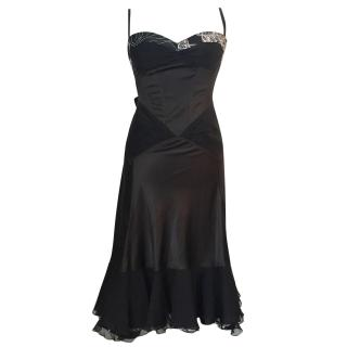 Just Cavalli short black dress