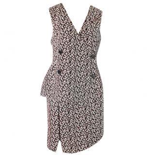 ANTONIO BERARDI  two piece zip dress UK 12