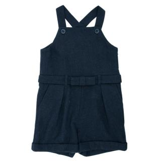 Marie Chantal Navy Blue Dungarees