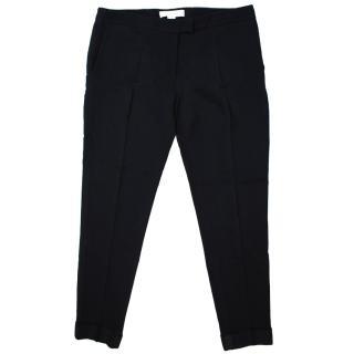 Stella McCartney Black Straight Leg Trousers