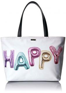 Kate Spade New York Whimsies Happy Francis. Large Tote
