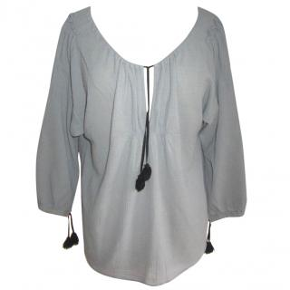 MALENE BIRGER Grey Top