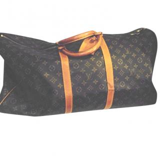 Louis Vuitton vintage speedy 55 travel bag