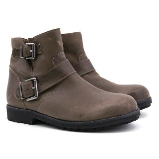 Bonpoint Brown Ankle Boots