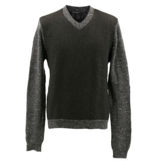 DKNY Men's V-Neck Jumper