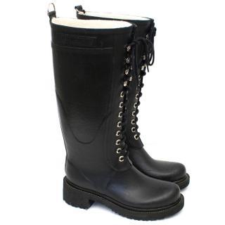 Ilse Jacobsen Rubi Black Long Rain Boots