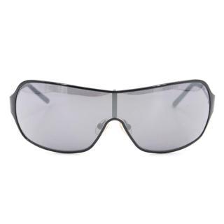 Vivienne Westwood Men's Black Shield Sunglasses