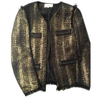 Sandro Gold and Black Jacket