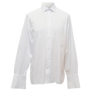 Ermengildo Zegna Couture Men's White Shirt