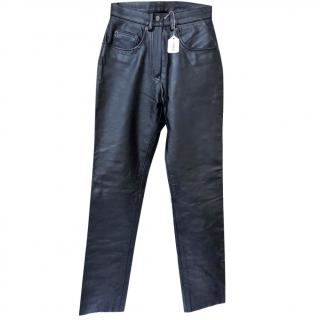 Belstaff Leather Trousers