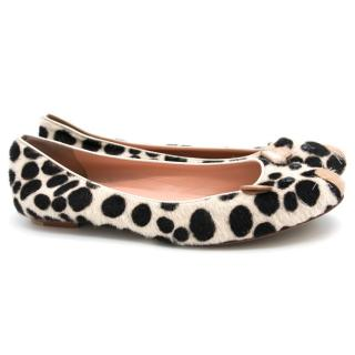 Marc by Marc Jacobs Pony Hair Mouse Flats