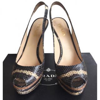 Prada Milano heels