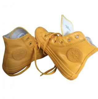 Converse girl's high tops
