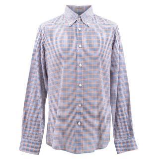 Bottega Veneta Check Shirt