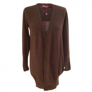 Max Mara long, very thin cardigan, 100% virgin wool - Size M