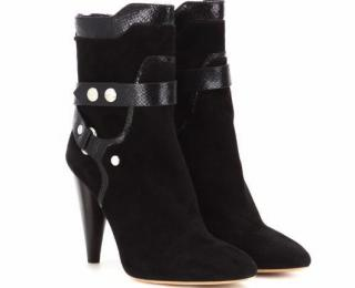 Isabel Marant  Black Redford Suede Boots