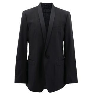 Dolce & Gabbana Black Tuxedo Jacket