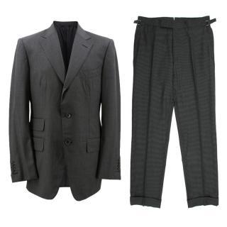 Tom Ford Men's Grey Pinstripe Suit