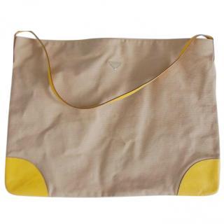 Prada Large Travel Tote Bag