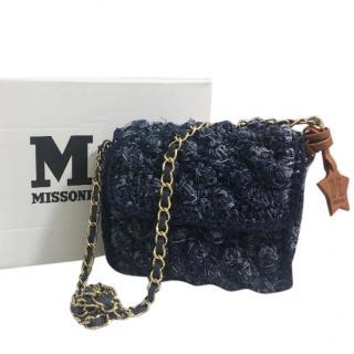 M Missoni Small Denim Bag