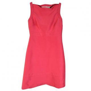 Valentino Rose Silk Dress