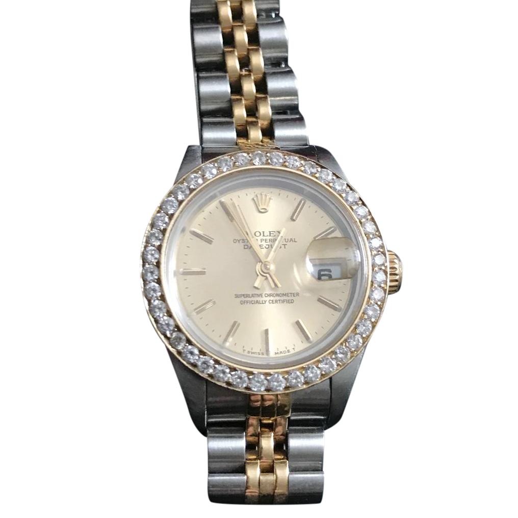Rolex Date Just - Diamond Bezel