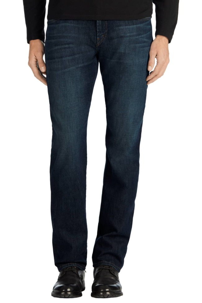 J Brand Kane Straight Fit Jeans in Kabru