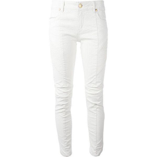 Pierre Balmain Off White Jeans