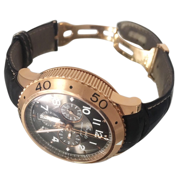 Breguet Rose Gold Men's Watch with box and receipt
