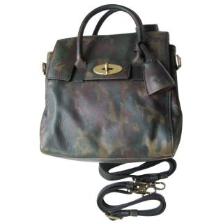 Mulberry Cara Delevingne Mini Camo Printed Goat Bag