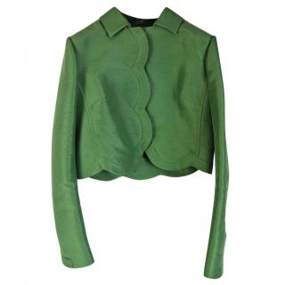 Valentino Lined Cropped Jacket