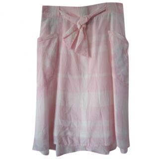 Daks pink A-line skirt.