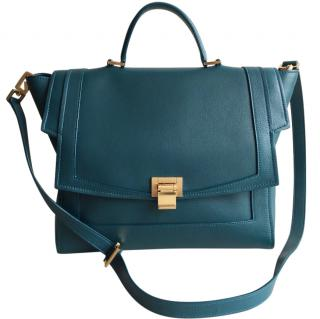 Elie Saab Green Leather Bag