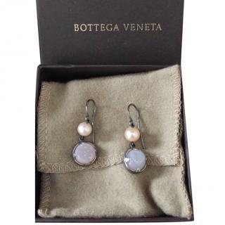 Bottega Veneta Pearlescent Drop Earrings